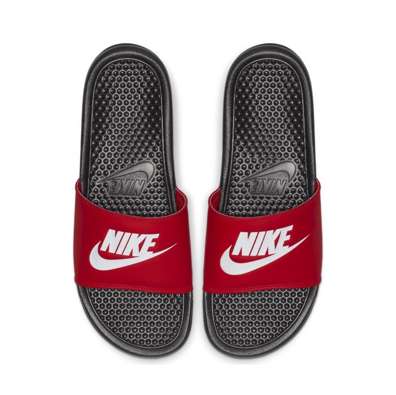 Nike NIKE BENASSI JDI BLACK/WHITE UNIVERSITY RED 343880 026 M