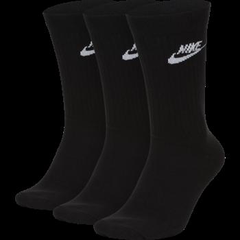 Nike Nike Sportswear Everyday Essential Men's Crew Socks 3 Pack 'Black' SK0109-010