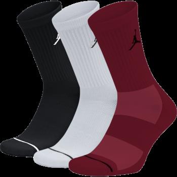 Nike Jordan Jumpman Crew Basketball Socks 'Multi' sx5545-011 (3 Pairs)