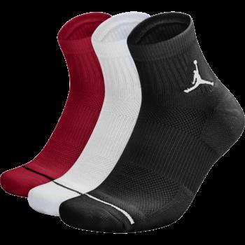 Nike Jordan Jumpman Crew Basketball Ankle Socks 'Multi' sx5544-011 (3 Pairs)