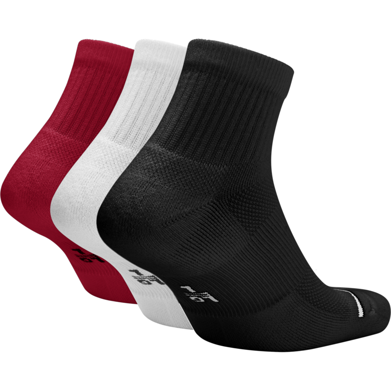 Nike Jordan Jumpman Crew Basketball Ankle Socks 'Multi' sx5544-011 (3 Pairs)