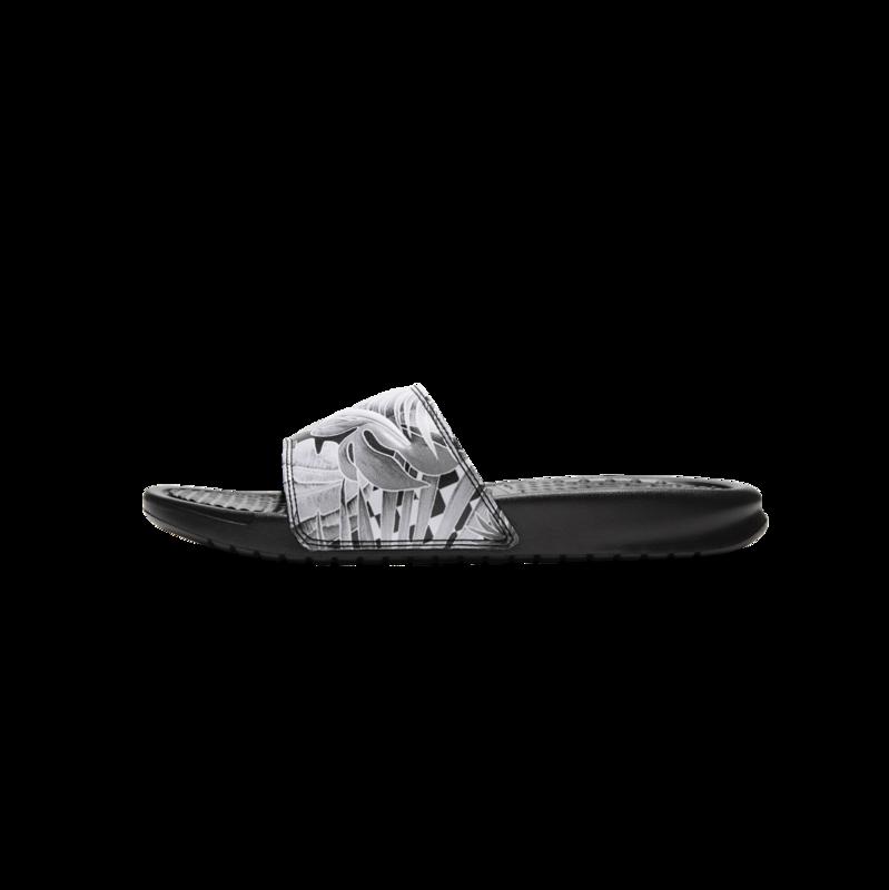 Nike Nike Women's Benassi JDI Print Slides 'Black/White' 618919-038