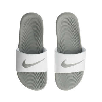 Nike Nike Women's Kawa Slide White/Metallic Silver 834588 100