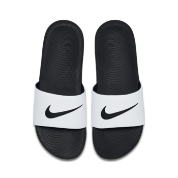 Nike Nike Men's Kawa Slide White/Black 832646 100
