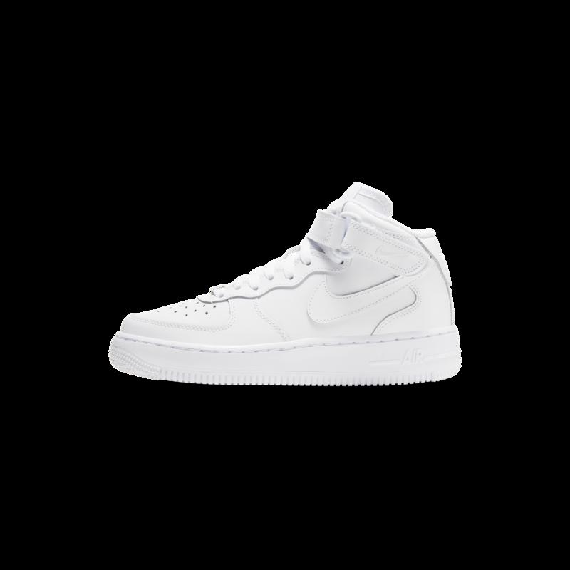 "Nike Nike Air Force 1 Mid ""Blanc"" GS 314195 113"