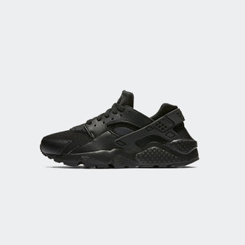 "Nike Nike Huarache Run ""Black/Black"" GS 654275 016"