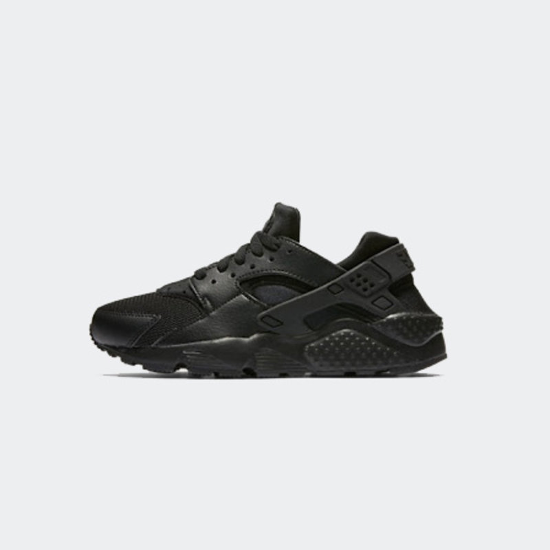 "Nike Nike Huarache Run ""Black/Black"" GS 654275 016"