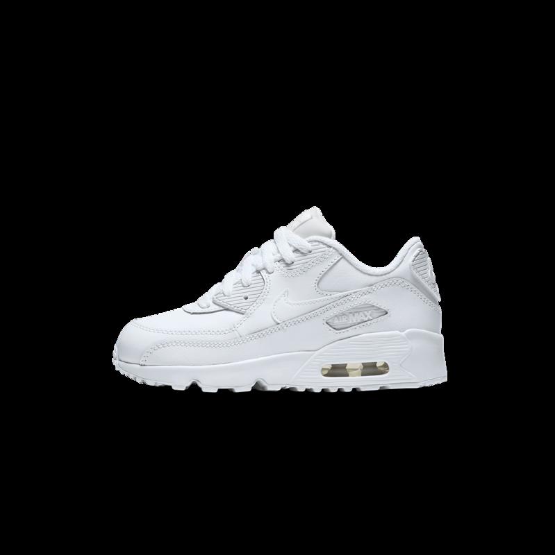 "Nike Nike Air Max 90 LTR ""White/White"" PS 833414 100"