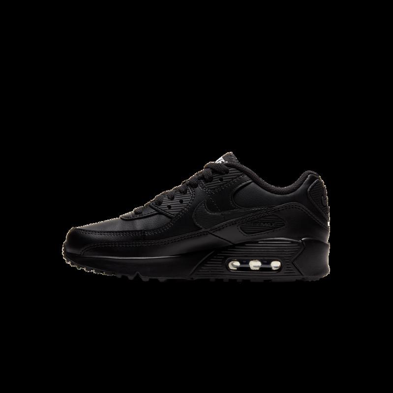 """Nike Nike Air Max 90 LTR """"Black/White"""" GS CD6864 001"""