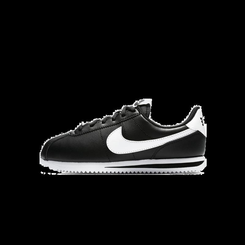 """Nike Nike Cortez Basic SL """"Black/White"""" GS 904764 001"""