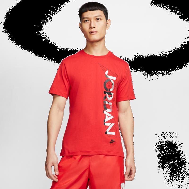 Air Jordan Air Jordan - Metallic Logo Cotton Tee CU1683-657
