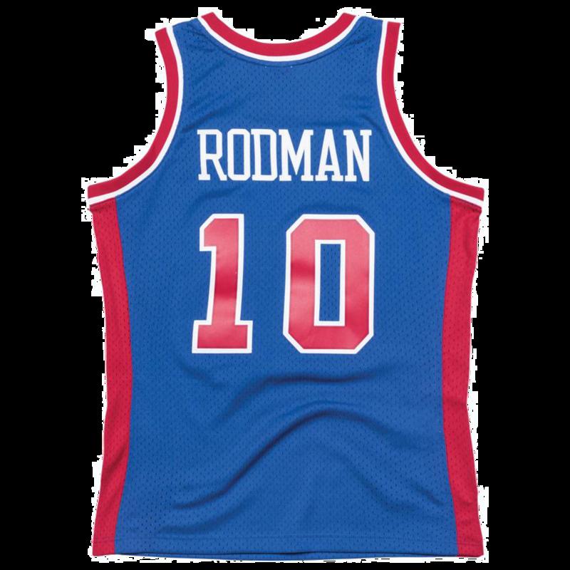 Mitchell & Ness Mitchell & Ness Dennis Rodman Swingman Jersey Pistons 1988-1989 Blue