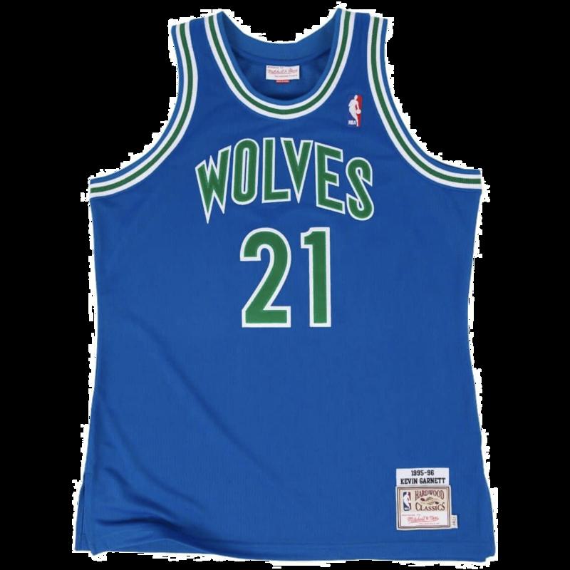 Mitchell & Ness Mitchell & Ness Minnesota Timberwolves Kevin Garnett 1995-1996 Royal