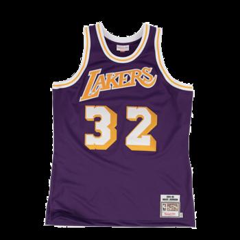 Mitchell & Ness Mitchell & Ness Magic Johnson Swingman Jersey Los Angeles Lakers Purple