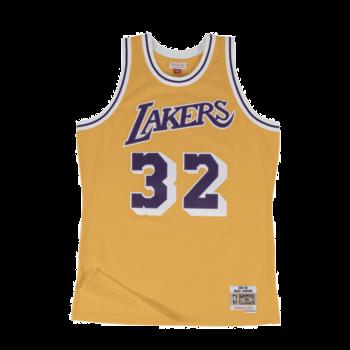 Mitchell & Ness Mitchell & Ness Magic Johnson Swingman Jersey Los Angeles Lakers Yellow