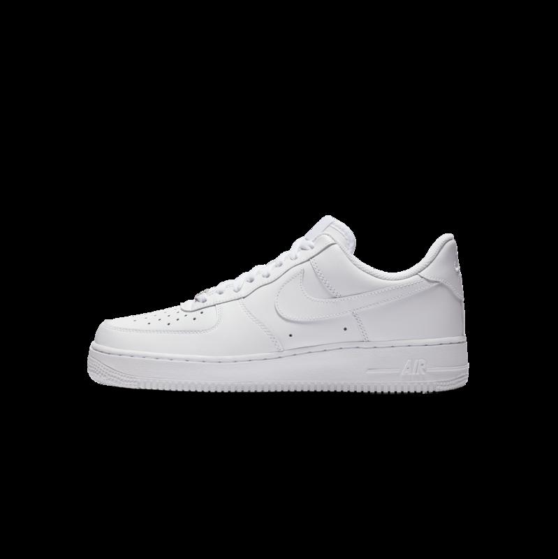 "Nike Women's Air Force 1 Low ""White/White"" 315115 112"