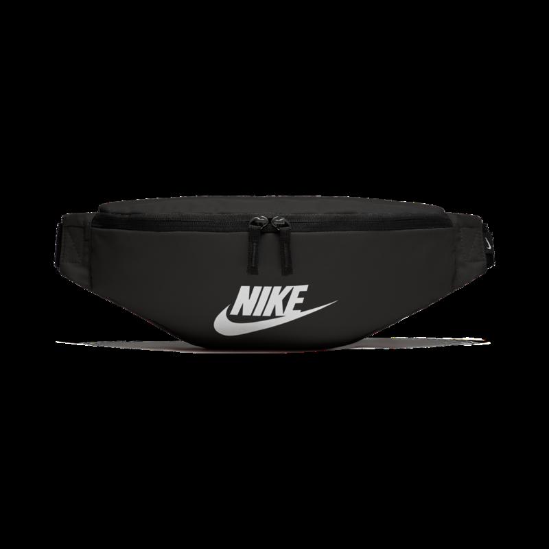 "Nike Nike Sportswear Heritage Hip Pack ""Black/White"" BA5750 010"
