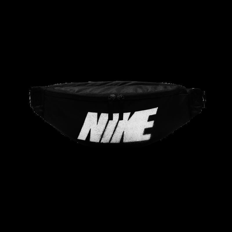"Nike Nike Heritage Hip Pack-Rebel ""Black/White"" BA6434 010"