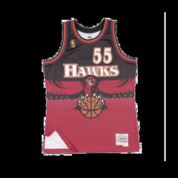 Mitchell & Ness Mitchell & Ness Atlanta Hawks Dikembe Mutomba 1996-97 Jersey Scarlet