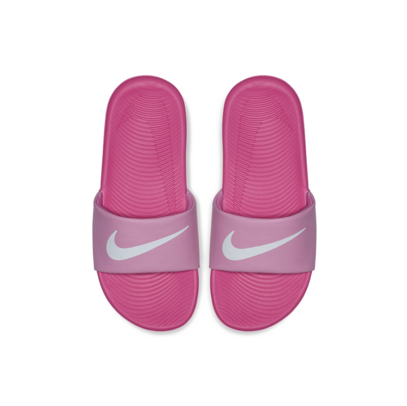 "Nike Nike Kawa Slide ""Psychic Pink/White"" GS/PS 819352 602"