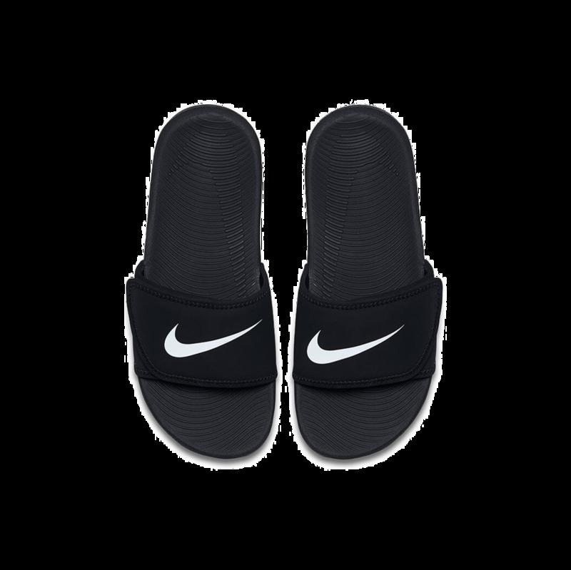 "Nike Nike Kawa Adjust ""Black/White"" GS/PS 819344 001"