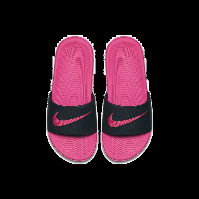 "Nike Nike Kawa Slide ""Black/Vivid Pink"" 819353 001"