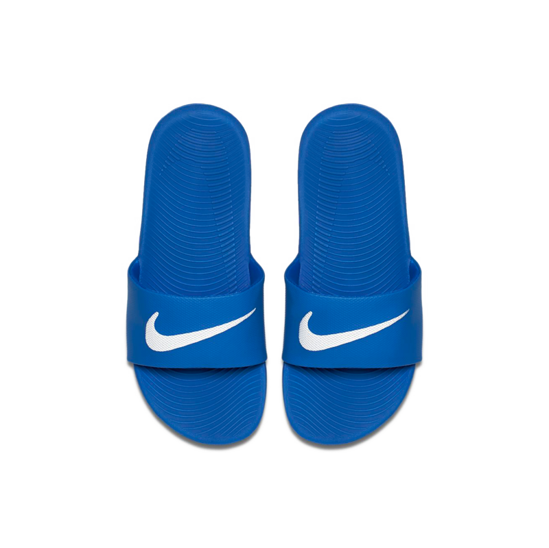 "Nike Nike Kawa Slide ""Hyper Cobalt/White"" GS/PS 819352 400"