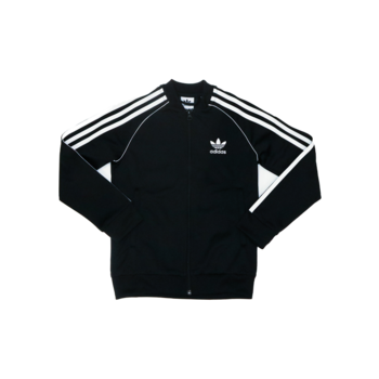 "Adidas Adidas Childrens Superstar Track Top ""BlackWhite"" DV2896"
