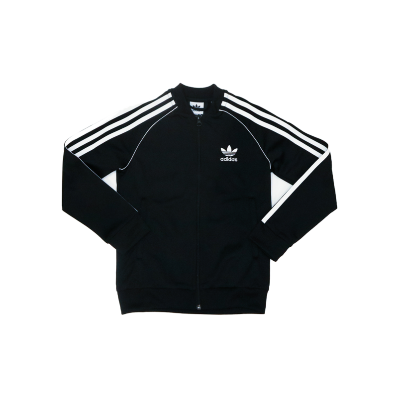 "Adidas Adidas Kids Superstar Track Top ""BlackWhite"" DV2896"