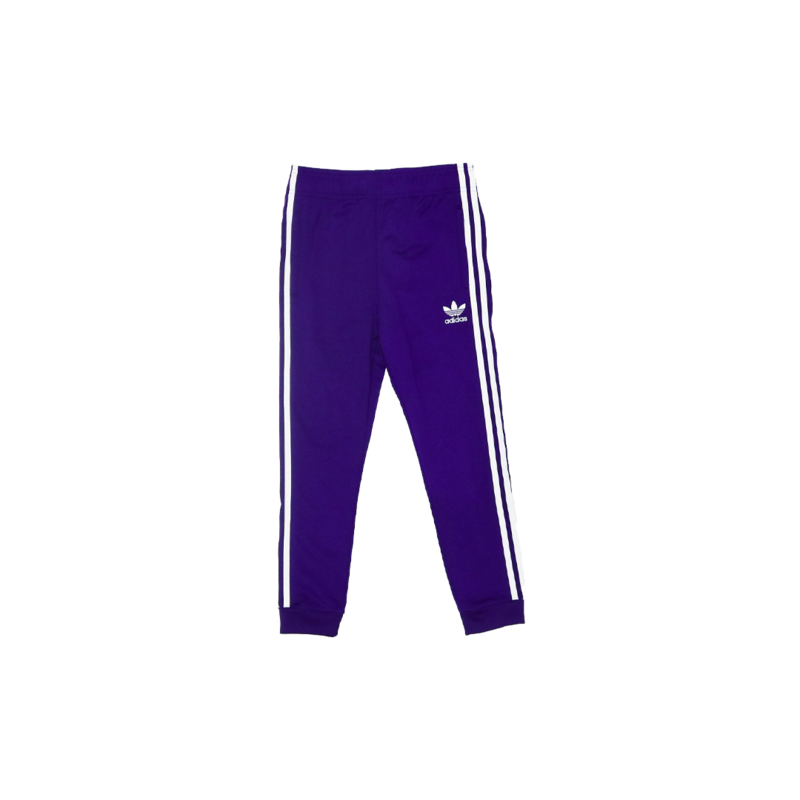 "Adidas Adidas Kids Superstar Track Pant ""Purple/White"" EI9887"