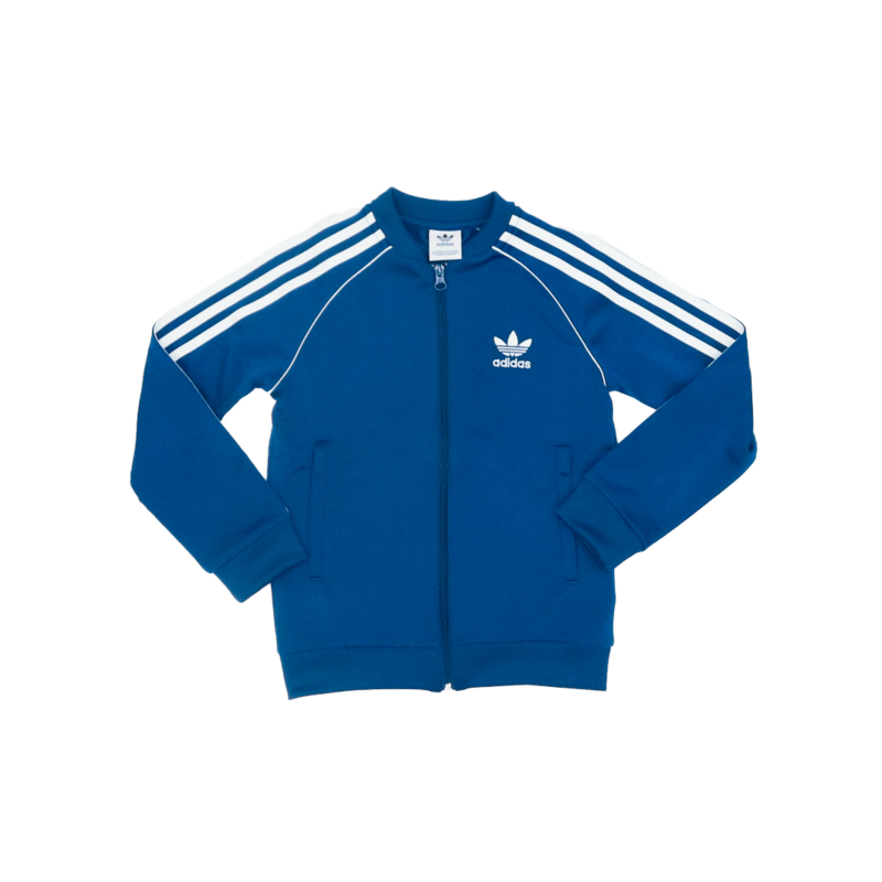 "Adidas Adidas Kids Superstar Track Top ""Legmar/White"" DV2898"