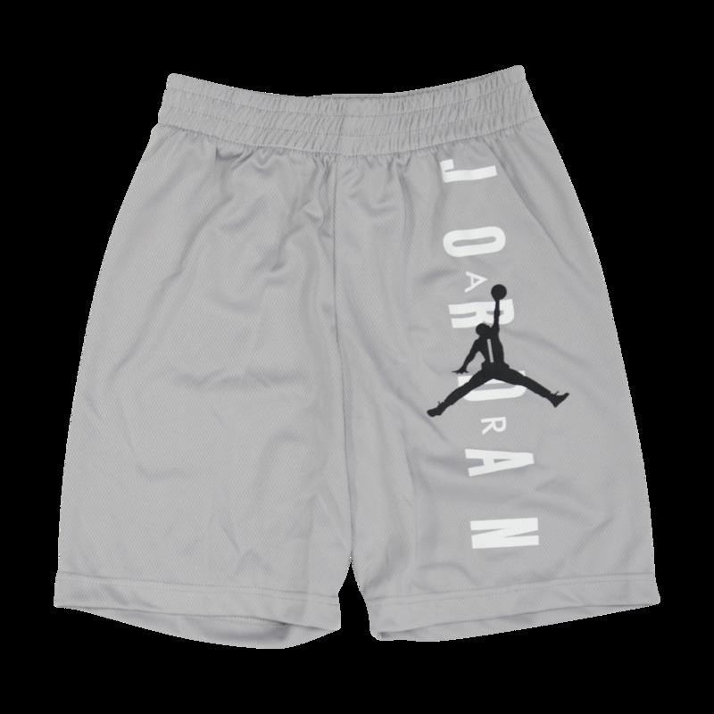 """Air Jordan Air Jordan Kids """"Mesh"""" Shorts Grey 85 7176 G4R"""