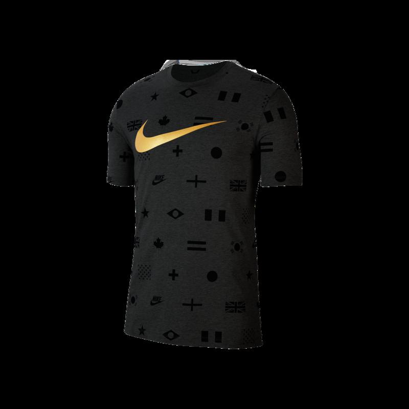 """Nike Nike NSW """"Preheat"""" AOP Tee Black CT6556 010"""