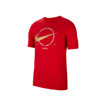 "Nike Nike NSW ""Preheat"" Swoosh Tee Red CT6871 657"