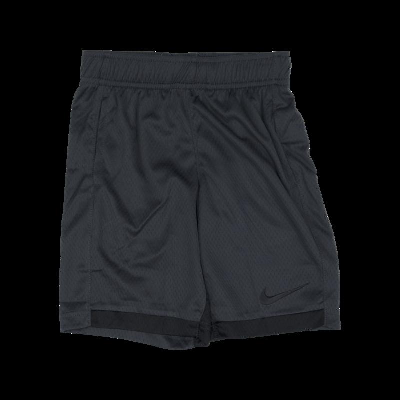 """Nike Nike Kids """"Dri-Fit"""" Swoosh Shorts Dark Grey 86 D426 693"""
