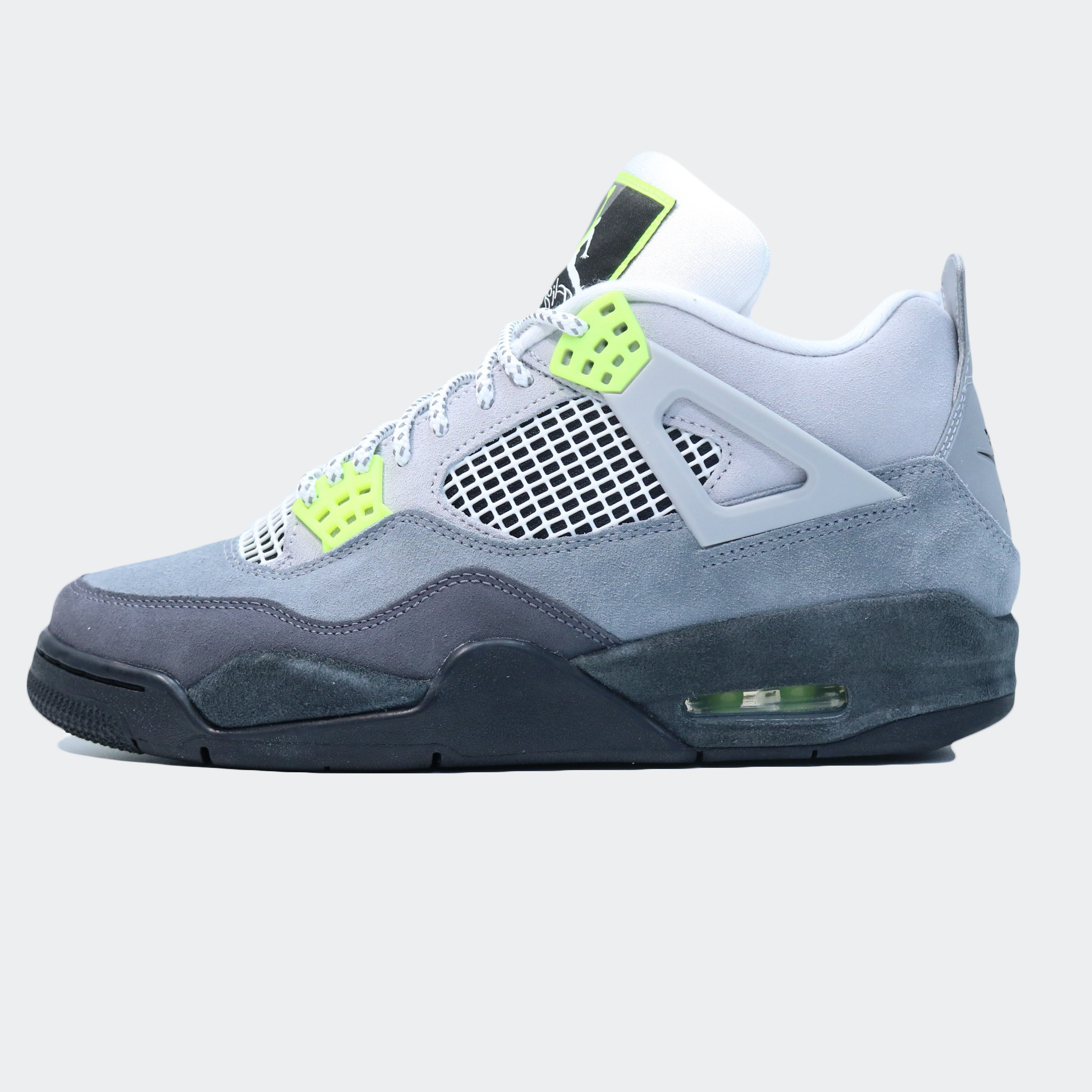 Air Jordan Retro 4 Air Max 95 Neon Og Ct5342 007 Volt Wolf Grey Sam Tabak