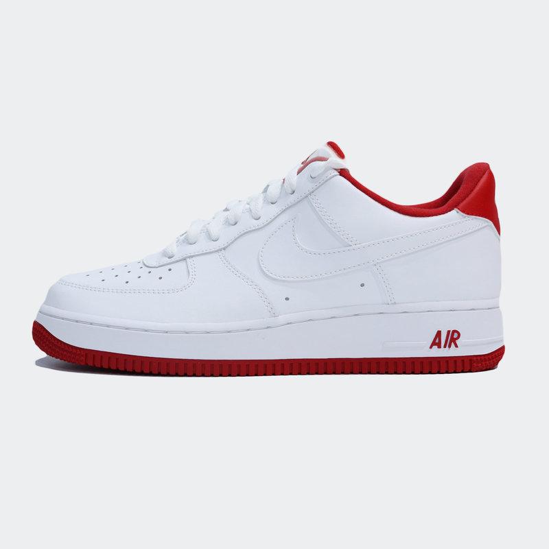 Nike Nike Air Force 1 '07 (CD0884) 101 White/University Red B&T