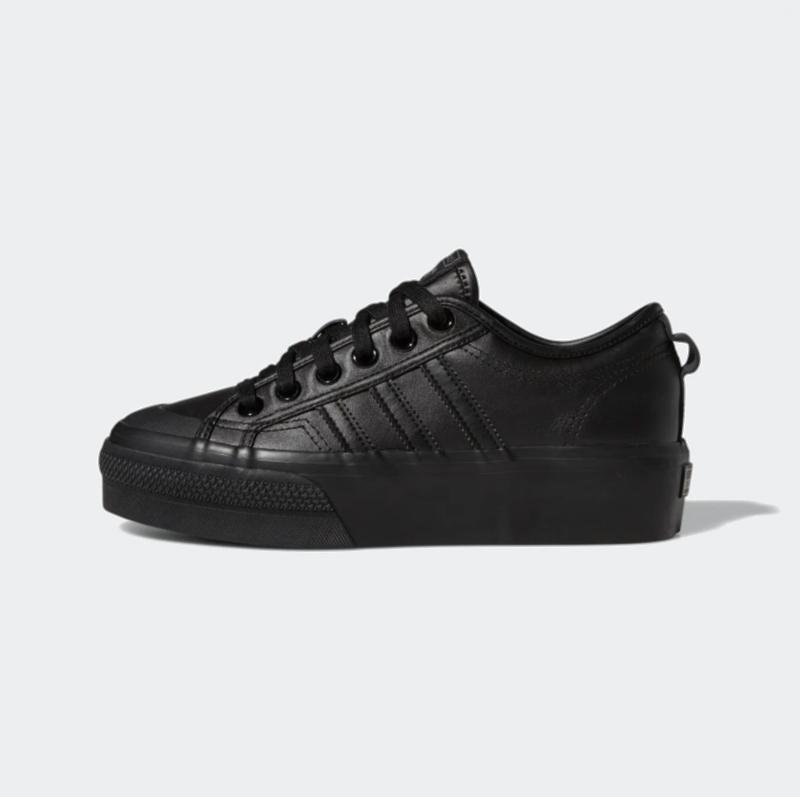 Adidas Adidas Women Nizza Platform Core Black/Core Black/Core Black FW0266