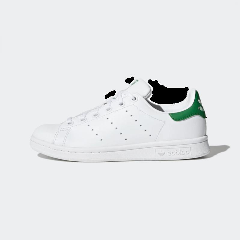Adidas Adidas Gradeschool  Stan Smith Cloud White/Cloud White/Green M20605