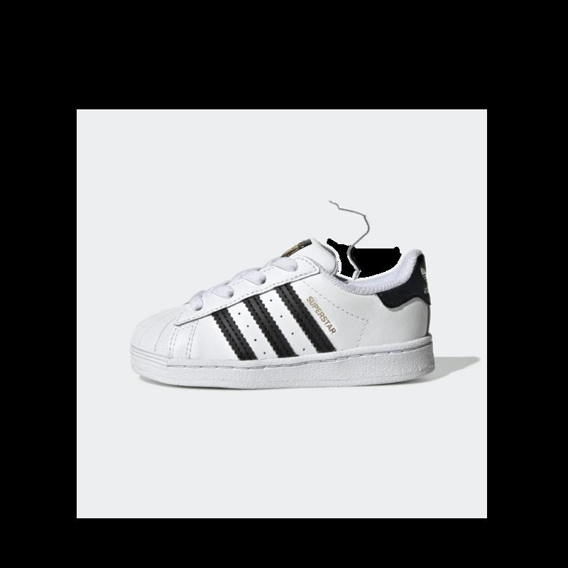 Adidas Adidas Toddler Superstar EL I Cloud White/Core Black/Cloud White FU7717