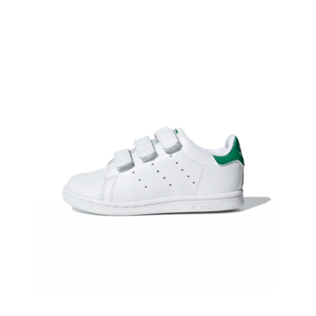 Adidas Adidas Toddler Stan Smith CF I Cloud White/Cloud White/Green BZ0520