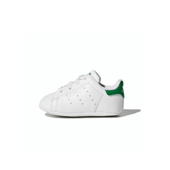 Adidas Adidas Toddler Stan Smith Crib Cloud White/Cloud White/Green B24101