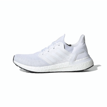 Adidas Adidas Men Ultraboost 20 Cloud White/Cloud White/Core Black EF1042