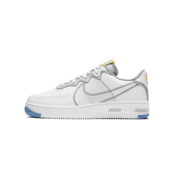 Nike Nike Air Force 1 React 'White/Light Smoke Grey' CT1020 100