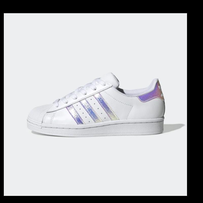 Adidas Adidas Gradeschool Superstar Cloud White/Cloud White/Cloud White FV3139