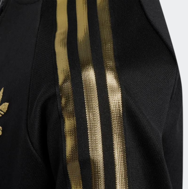 Adidas Adidas Youth Kids Superstar 24K Track Top 'Black Gold' GJ2264