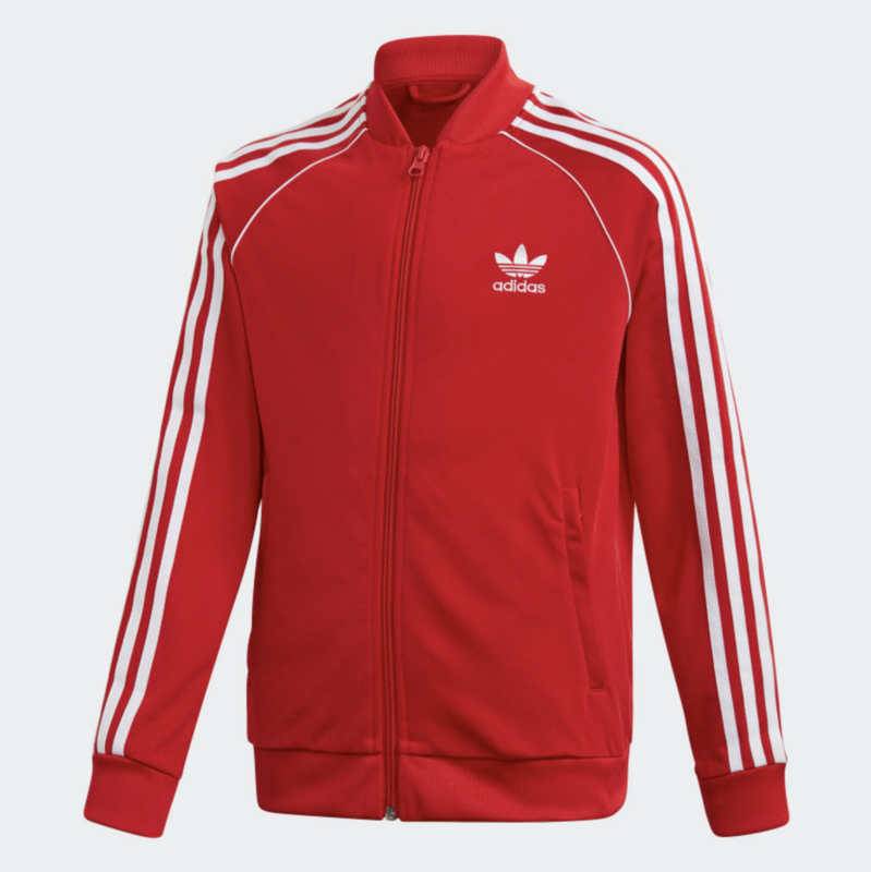 Adidas Adidas Kids Superstar Tracksuit 'Scarlet/White' GD2676