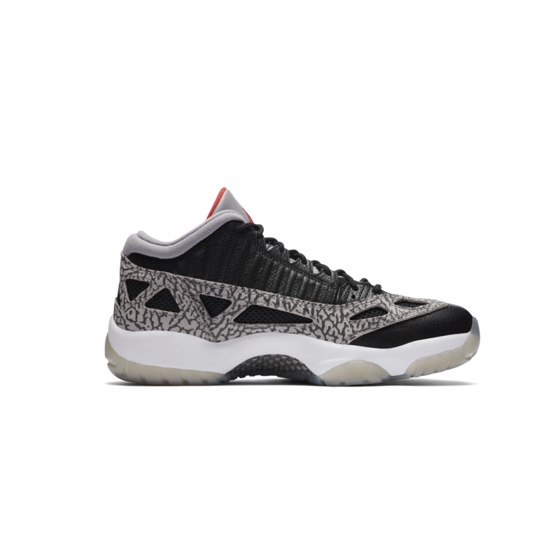 Air Jordan Air Jordan 11 Retro Low IE 'Black Cement' 919712 006