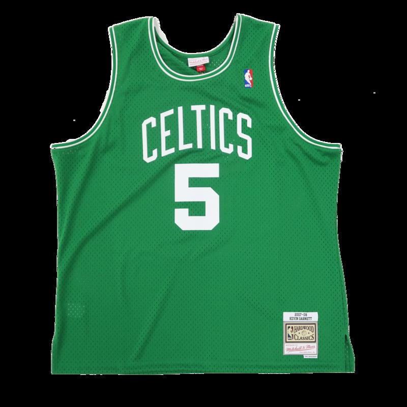 Mitchell & Ness Mitchell & Ness Kevin Garnett Swingman Jersey Boston Celtics 2007-08 Green