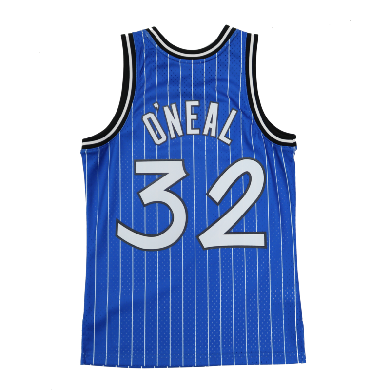 Mitchell & Ness Mitchell & Ness Shaquille O'Neal Swingman Jersey Orlando Magic 1994-95 Blue/Pin Stripe